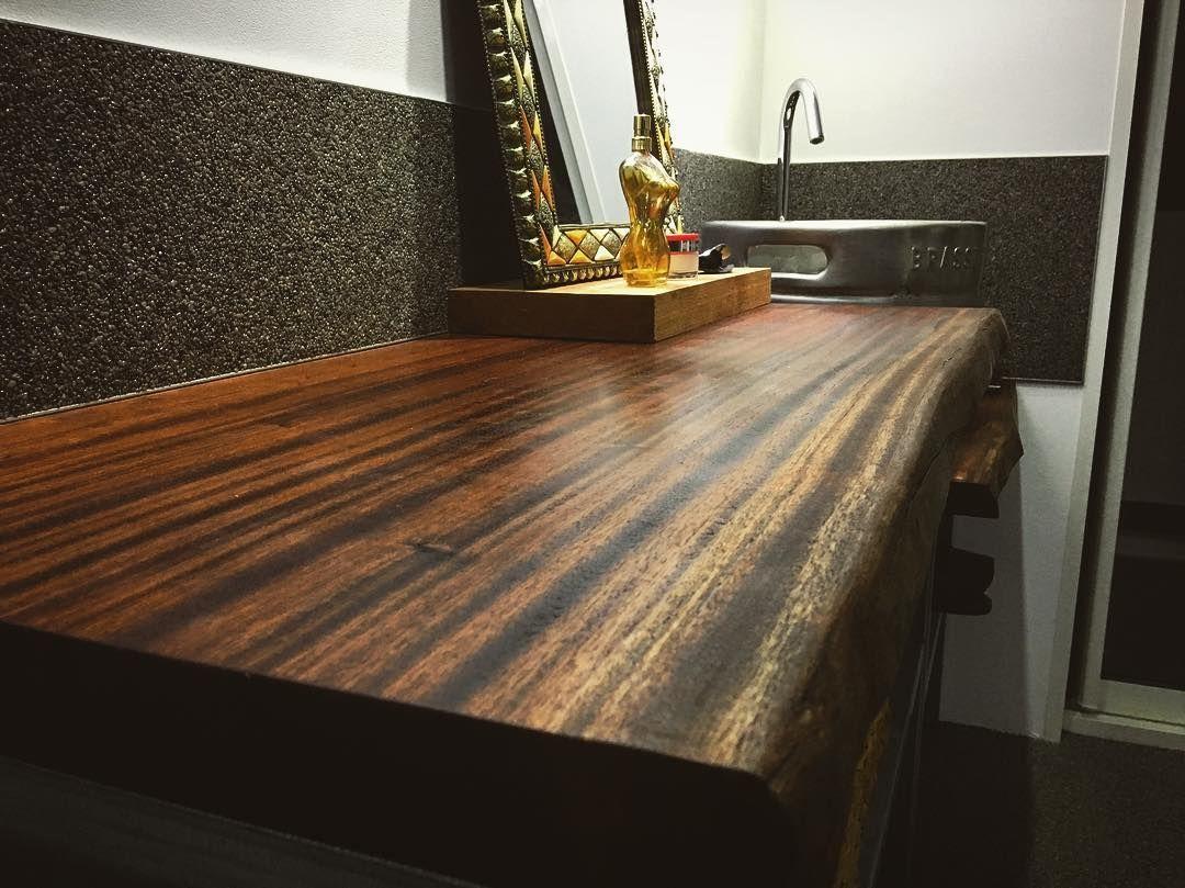 Plan Vasque En Bois Massif Pour Salle De Bain Table Coffee Table