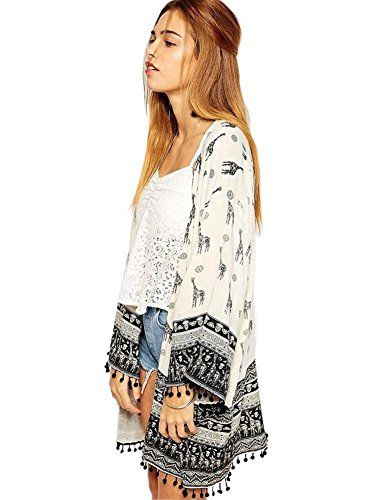 Women Long Tassels Relaxed Flower Printed Casual Blouse T... http://www.amazon.com/dp/B013F369NU/ref=cm_sw_r_pi_dp_CR1jxb1EVYR96