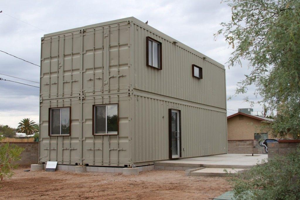 15 impresionantes dise os de casas construidas con - Diseno de casas con contenedores ...