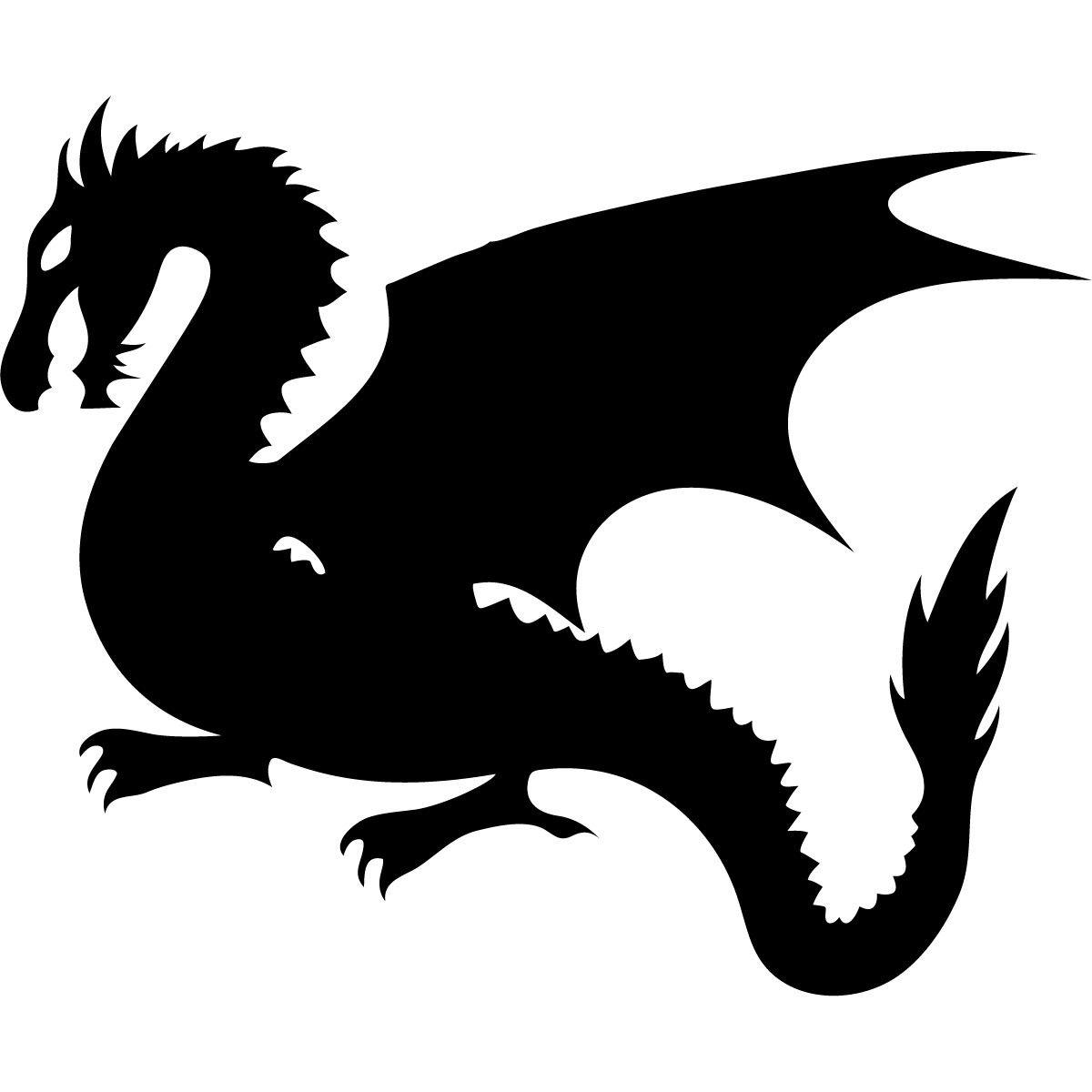 Dragon Fantasy Monster Wall Sticker