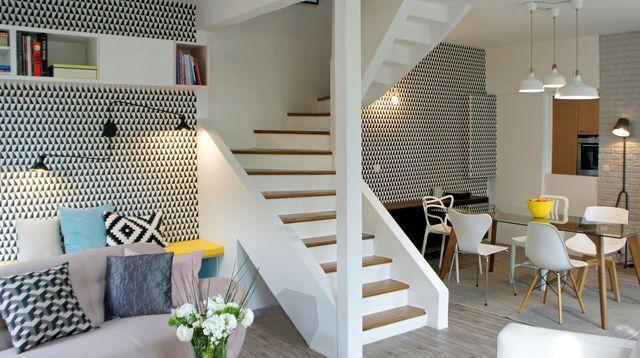 dco salon amnagement salon conseils darchitectes pour le moderniser - Decoration Salle A Manger Salon