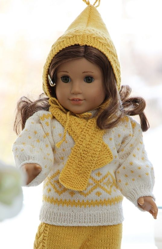 Knitting for 18 Dolls | doll knitting pattern for american girl doll ...