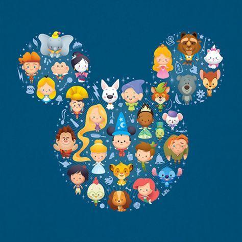 Personnages Disney En 2019 Personnages Disney Mignons