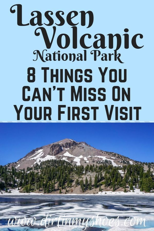 Lassen Volcanic National Park is one of the most beautiful places in California and should be on everybody's bucket lists! Planning an itinerary for your family vacation can be a challenge though, that's why I'm sharing this list of 8 things to do in Lassen Volcanic. Whether you're hiking with kids, camping with families, or are on an adventure touring volcanoes, this travel guide will help you have the best road trip! #3 is one of my favorite lakes! #lassenvolcanicnationalpark#travel#california