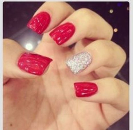Soo Wear These If I Had A Red Dress For Prom Nails Nails