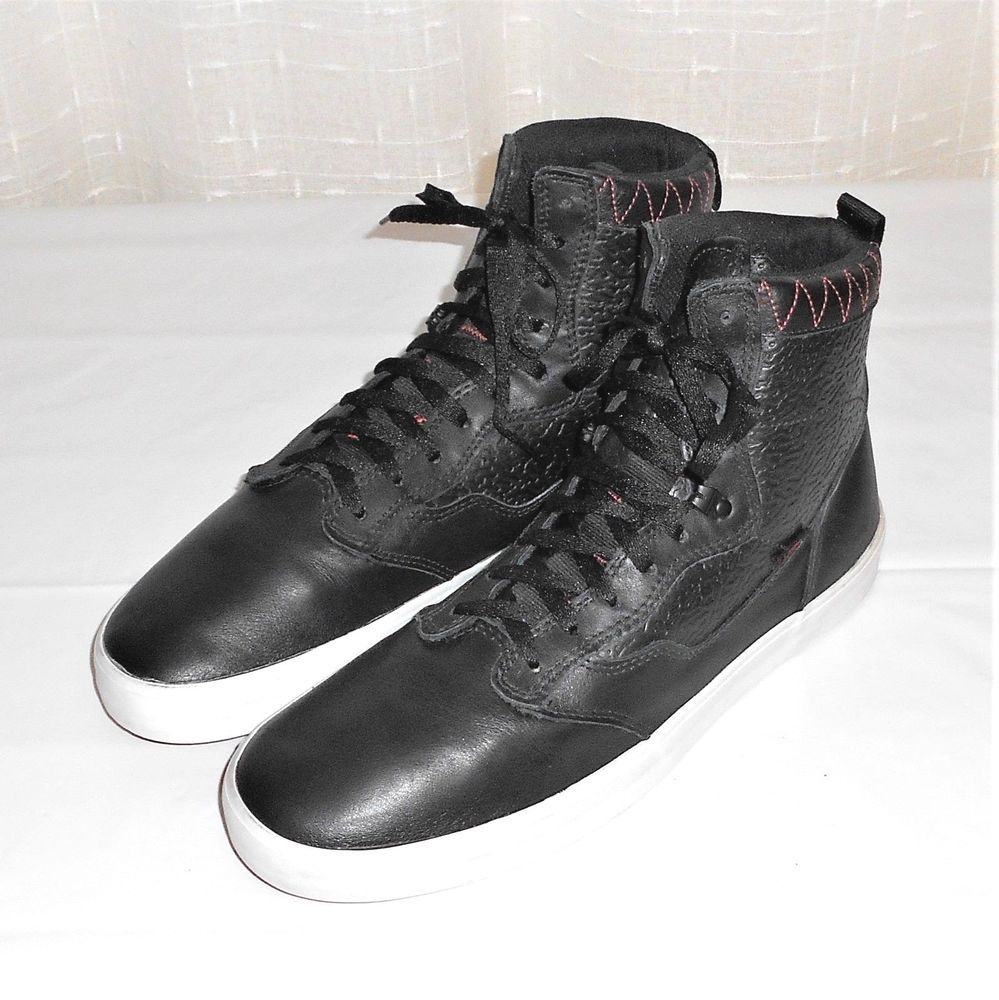 vans otw high tops black