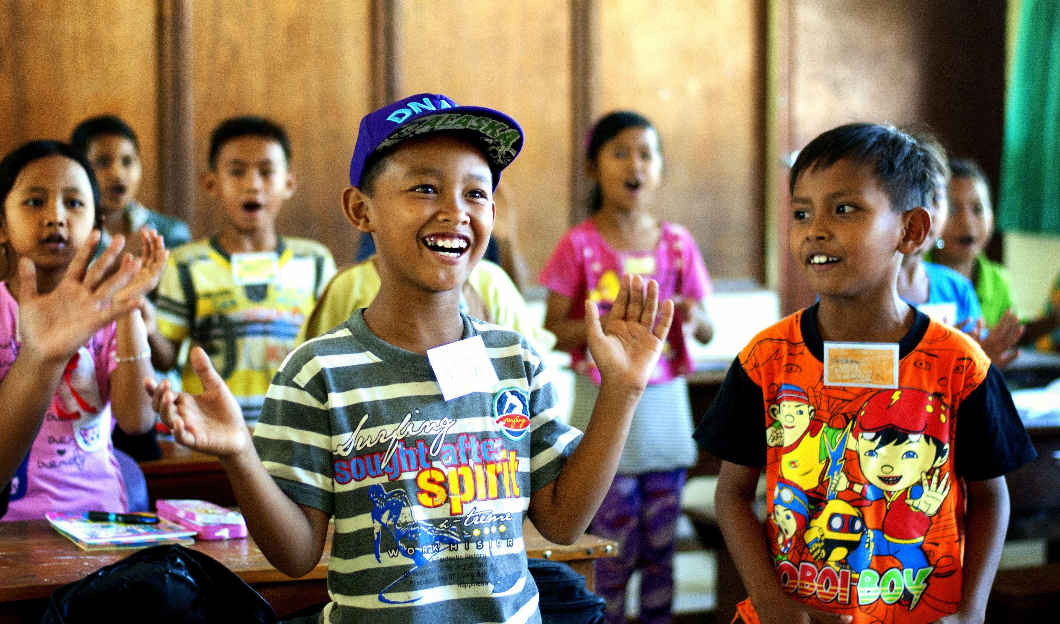 Clapping a happy song Pijamas para niñas, Niños