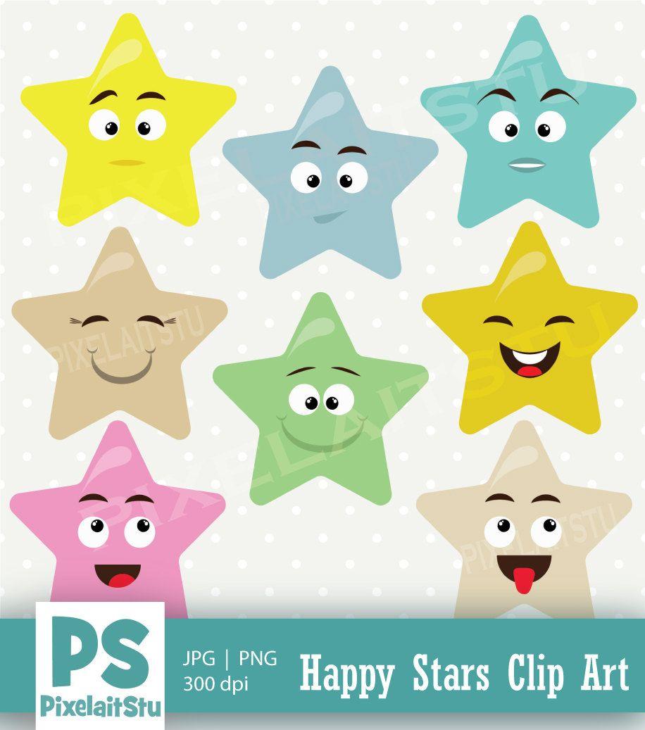 happy star clip art - photo #35