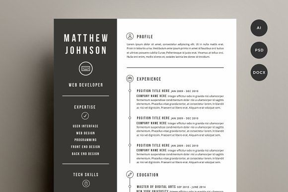 Resume  Cover Letter Template Resume cover letter template, Cover
