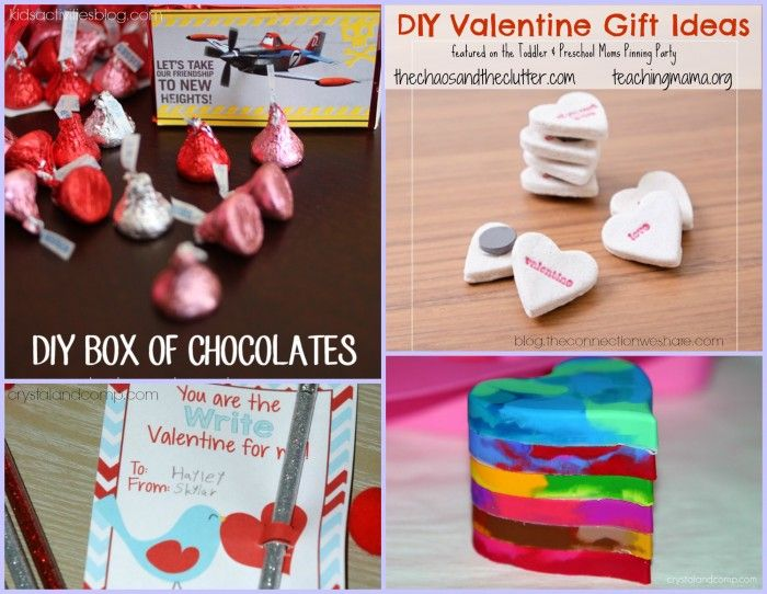 Schön DIY Valentine Gift Ideas Featured On The Toddler U0026 Preschooler Pinning Party