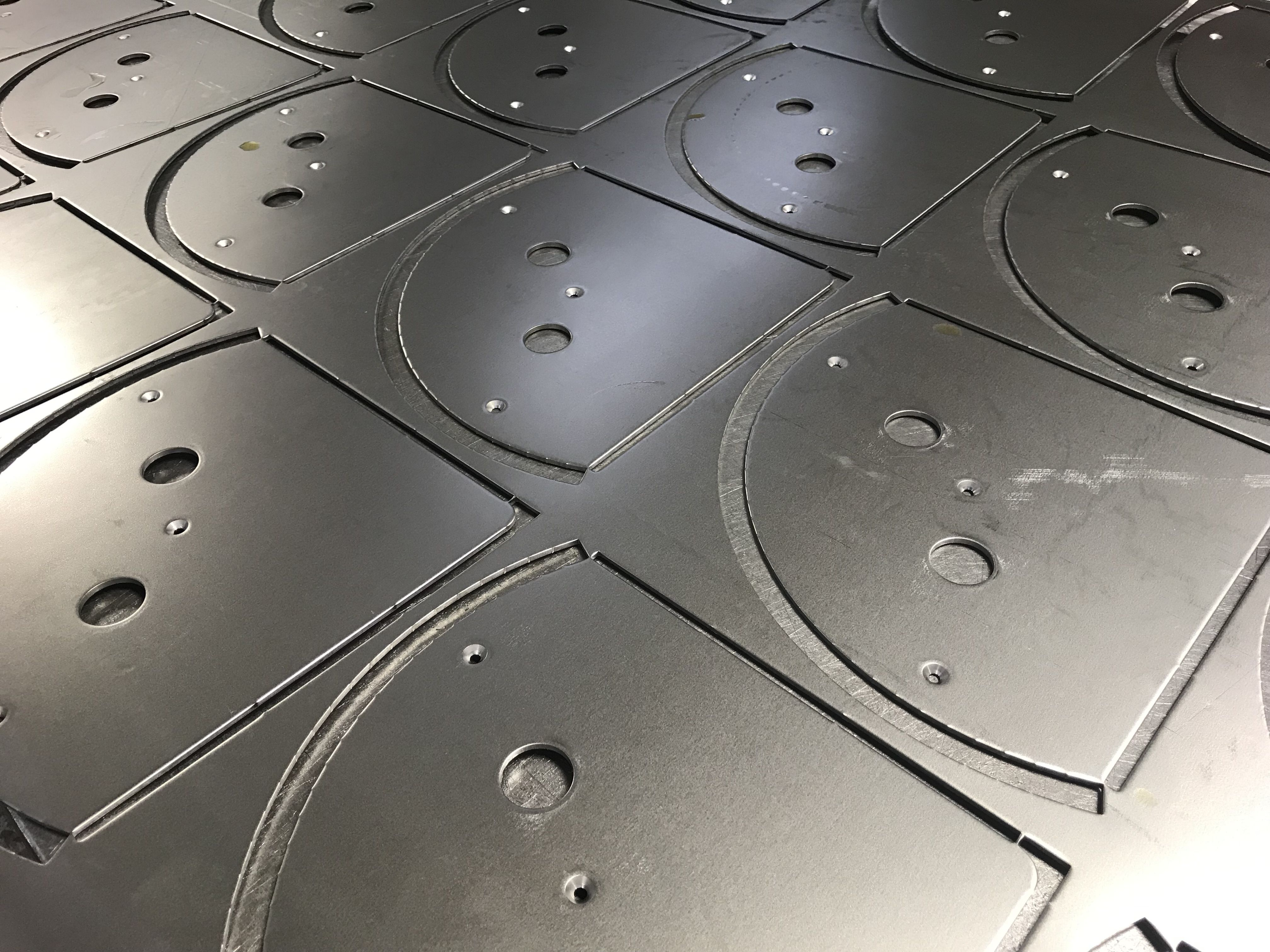 Cnc Punched Mild Steel Components Sheet Metal Work Steel Panels Metal Working