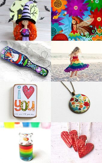 Colorful Findings by Sole on Etsy--Pinned with TreasuryPin.com
