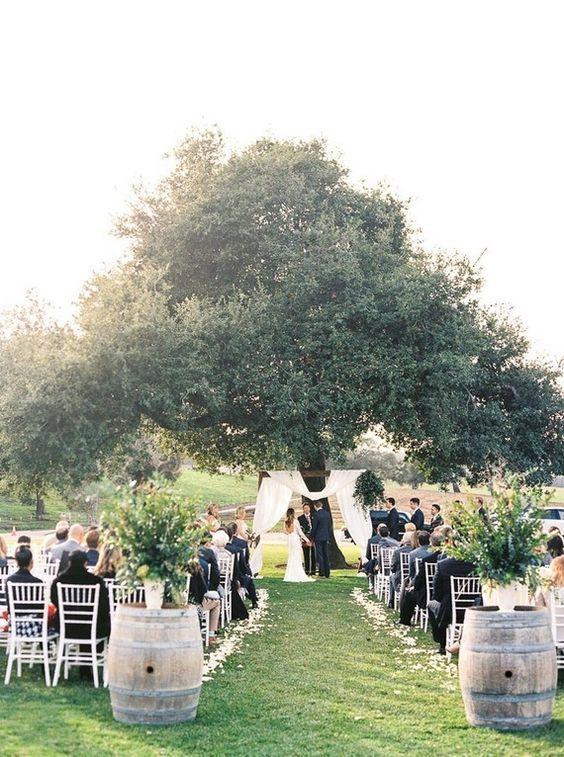 bodas campestres: 5 detalles importantes para esta tendencia