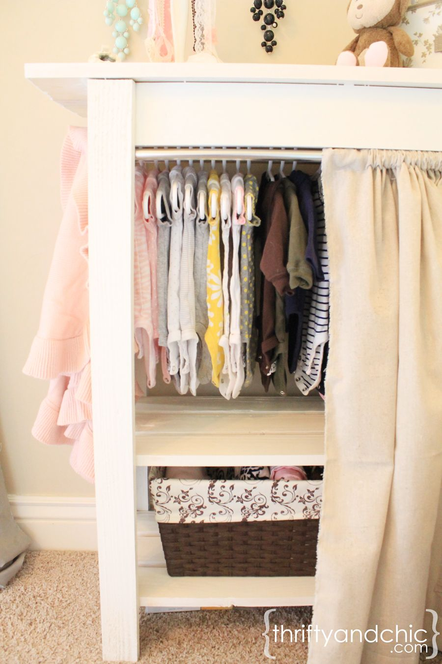 Delicieux Moveable Baby Closet...could Also Use As Dress Up Closet For Kida