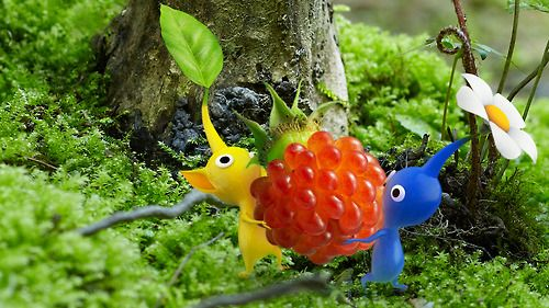 """Pikmin Short Movies @ the Tokyo International Film Festival Nintendo will unveil """"Pikmin Short Movies"""" an animated film from created by Shigeru Miyamoto, as part of a research project. The film is a compilation of three shorts """"The Night Juicer"""" in which Captain Olimar makes his favorite juice"""