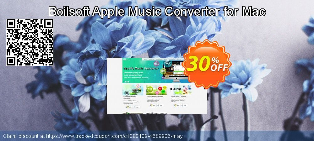 Boilsoft Apple Music Converter for Mac Coupon 30% discount