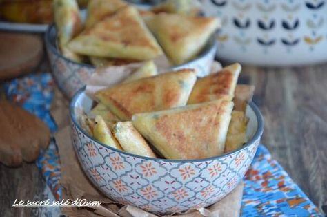 brick poulet curry crème fraiche | Le Sucré Salé d'Oum Souhaib