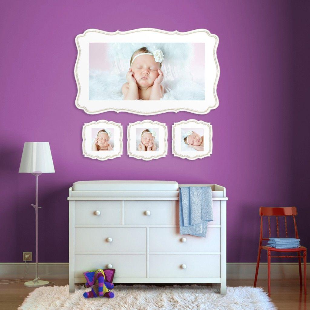 Wall display wall photo groupings pinterest nursery and change