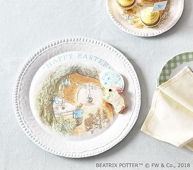 Beatrix Potter Easter Platter Easter Basket Liner