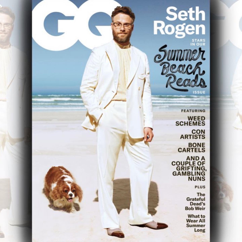 Seth Rogen Seth Rogen Beach Reading Gq