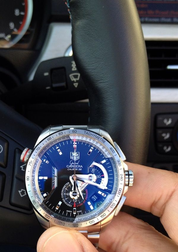 ee638d30c13 TAG Heuer Grand Carrera Caliber 36 RS Caliper Chronograph Watch Review