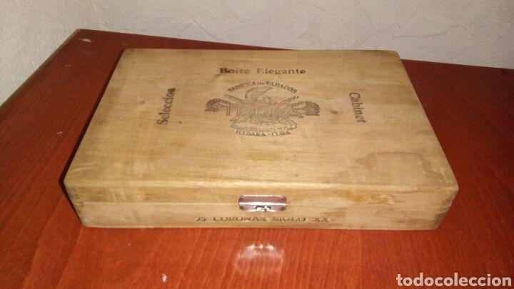 Antigua caja de puros TROYA Martinez y CA. Habana - Cuba