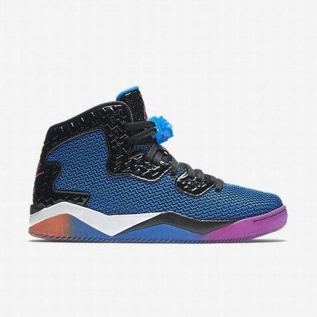 nike air thea atomic pink,Nike Men's Black/Photo Blue/Atomic Orange/Fire  Pink Air Jordan Spike Forty Shoe