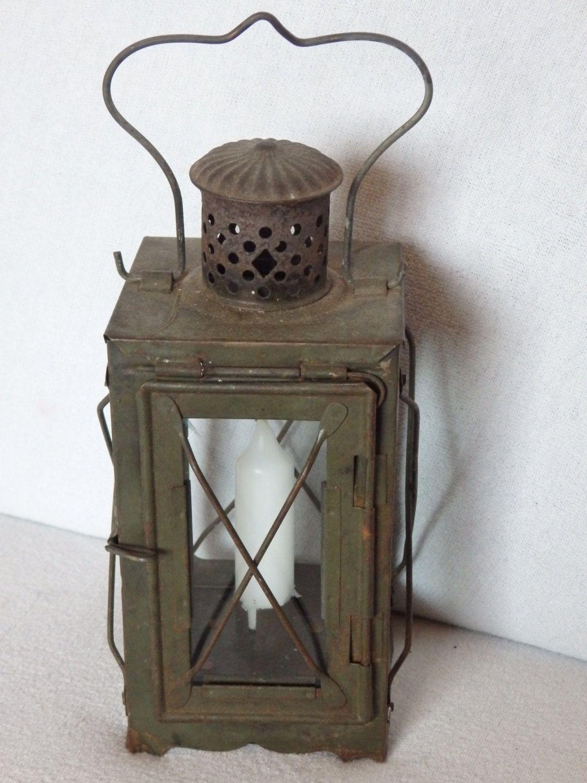 alte kerzenlaterne kerzenlampe laterne kerze camping outdoor leuchte wwi 1 wki wk1 antik. Black Bedroom Furniture Sets. Home Design Ideas
