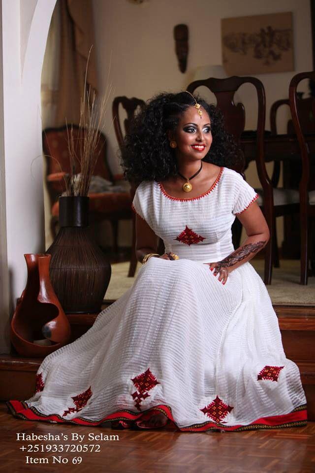 Beautiful Isnt It Habesha BySelam Ethiopian BeautyEthiopian DressAfrican