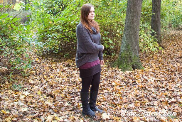 Gehäkelte Jacke für den Herbst | Jacken, Herbst und Häkeln