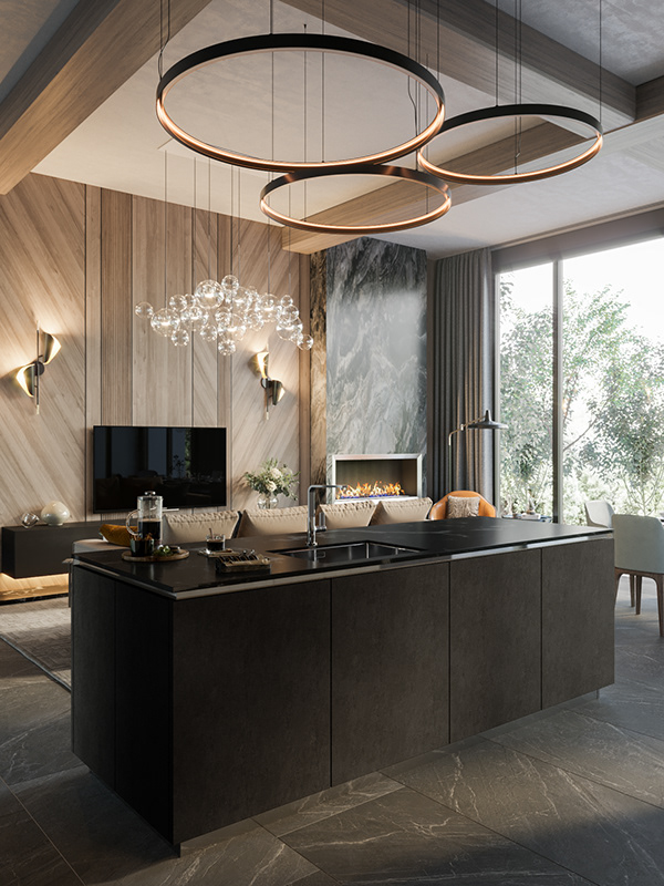 Luxury apartment in residential complex Baisanat - Dezign Ark (Beta)