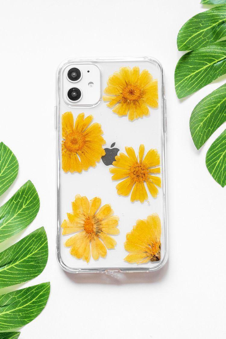 Case In A Box Flores Amarillas Fundas Para Iphone Fundas Para Samsung Airpods Apple