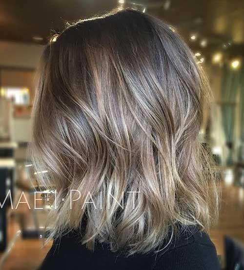 Ash Blonde Colored Bob Pics You Should See Balayage Hair