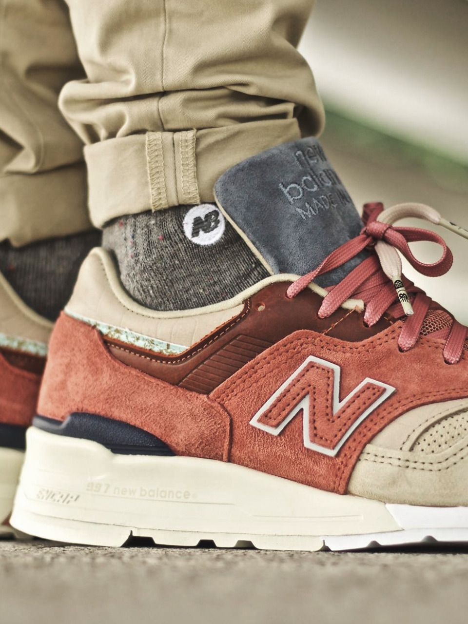 online store 41637 e32a8 Stance x New Balance 997 ST  First of All Pack  - 2017 (by Fred Adam ) Buy  at New Balance