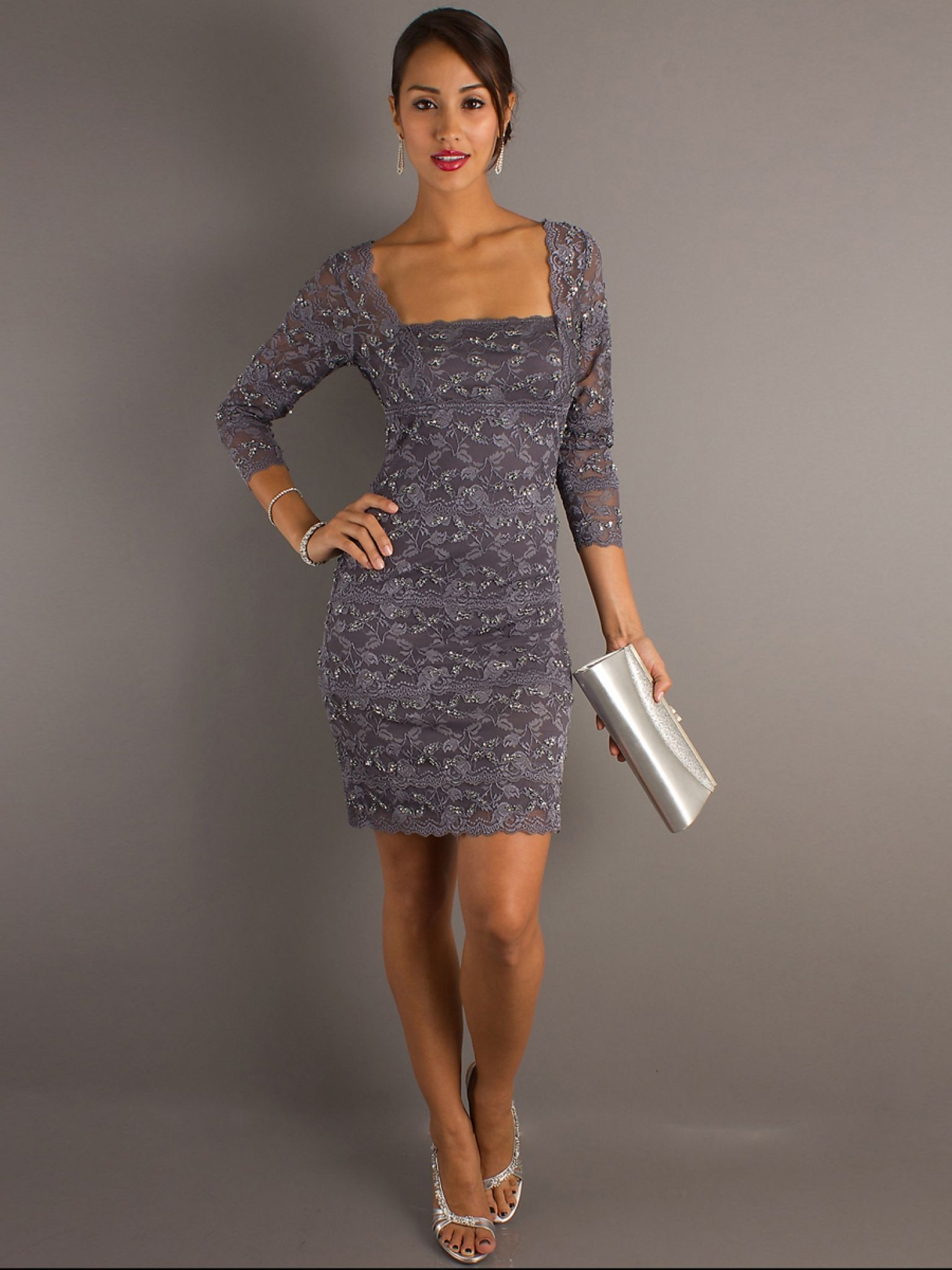 Grey Wedding Guest Dress Dresses For Party Check More At Http
