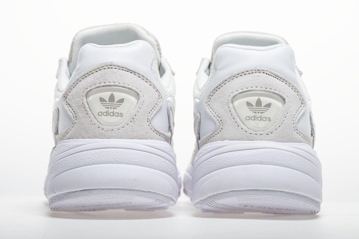 Adidas Falcon W BB9174 YUNG-2 White Grey Shoes6  04c795316