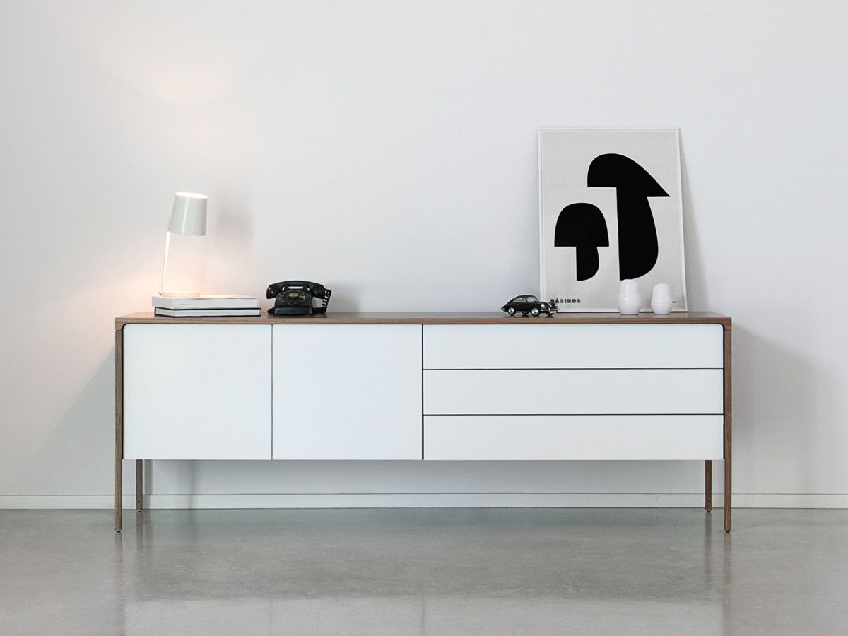 punt tactile long sideboard | nest, drawers and living rooms, Wohnzimmer dekoo