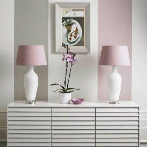 Pastellfarben Wand breite vertikale streifen wand tapeten wickelkommode pastellfarben