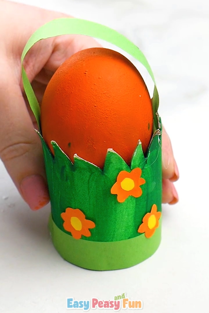 Photo of Toilet Paper Roll Easter Craft for Kids