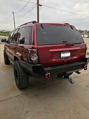 Jeep Grand Cherokee Wj Rear Steel Custom Bumper Jeep Wj Jeep Grand Cherokee Jeep Grand