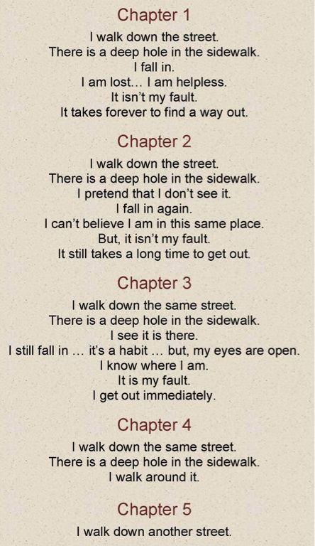 Recovery Poems Short