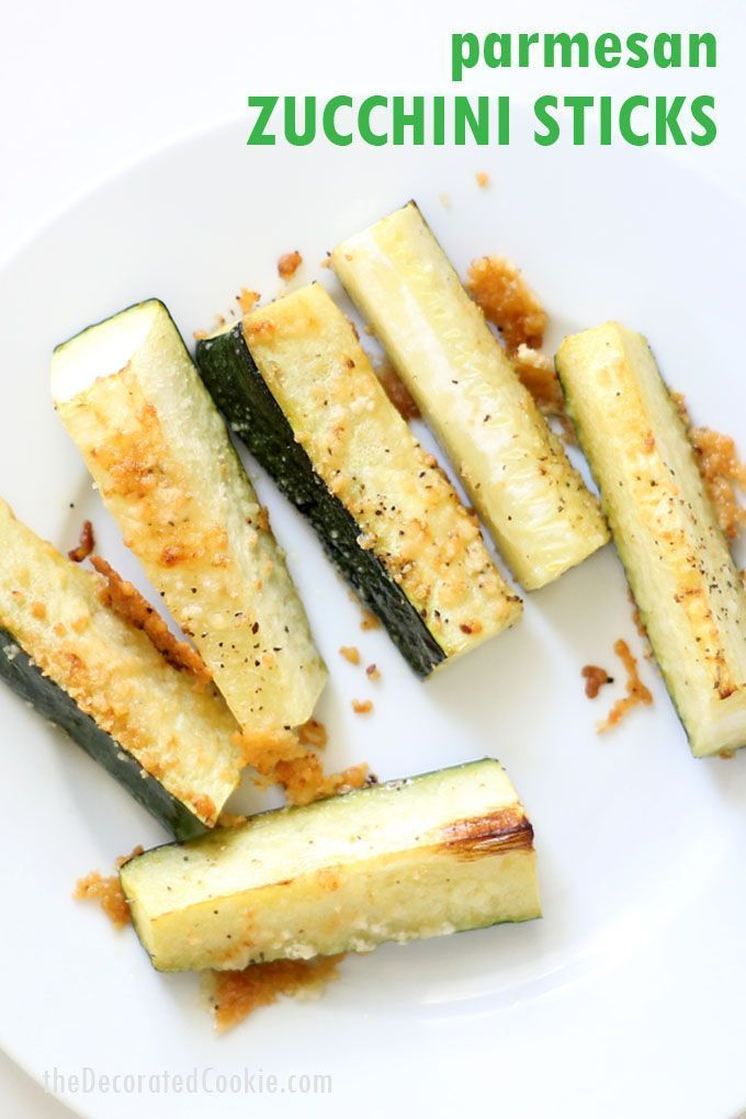 Parmesan Zucchini Sticks Parmesan zucchini sticks  quick and easy side dish appetizer or snack idea  Healthy low carb ketofriendly vegetable recipe