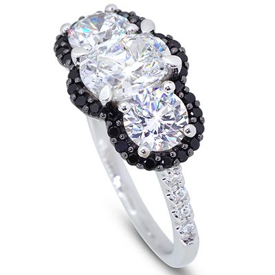 Black Diamond Rings Sydney Moi Moi Fine Jewellery Jewelry
