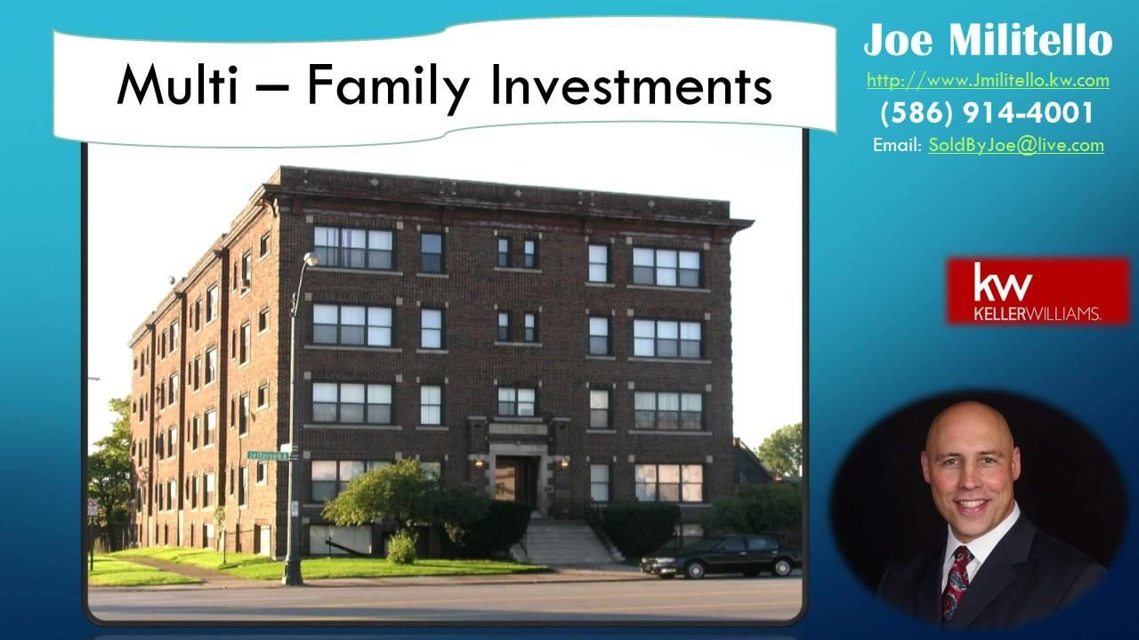 County MultiFamily Properties For sale https