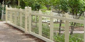 Woven wire fencing | For the cottage | Pinterest | Wire fence ...