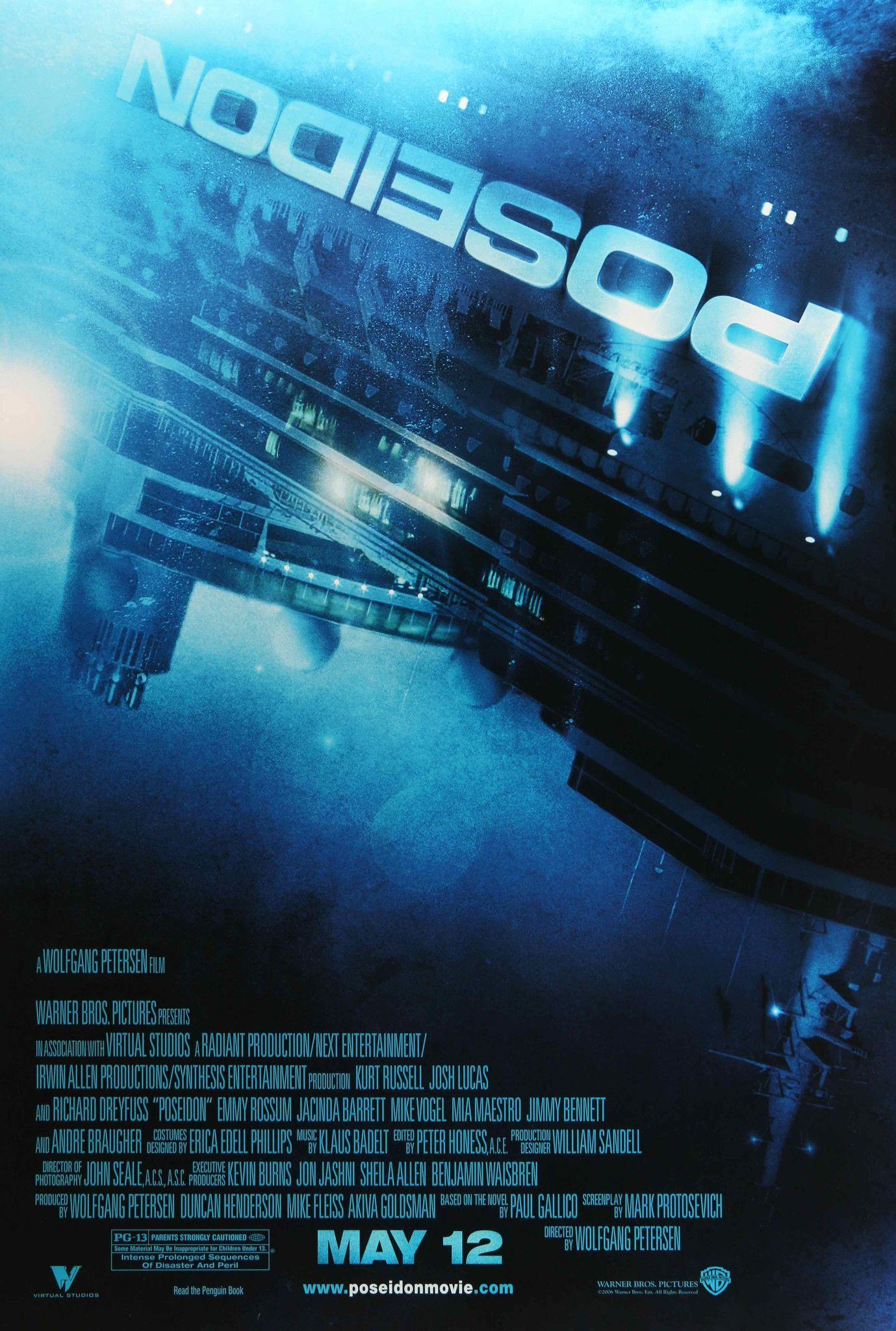 Poseidon 2006 Original Movie Posters At Film Art Short Circuit 27x40 Poster 1986 Vintage 27 X 40