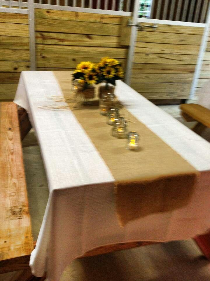Pin By Cory Letts On One Day 3 Cute Wedding Ideas Sunflower Wedding Plastic Tablecloth Decorations