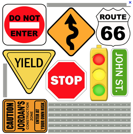 Simple Signs Road Signs Personalized Street Signs Wall Signs