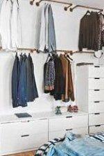 Bauen Sie Ihre eigene Garderobe  Ideen und Anleitungen f  r alle die mehr Dekoration unterbringen wollen    Kleidung #Decoration #homedecor #homedesign #homeideas