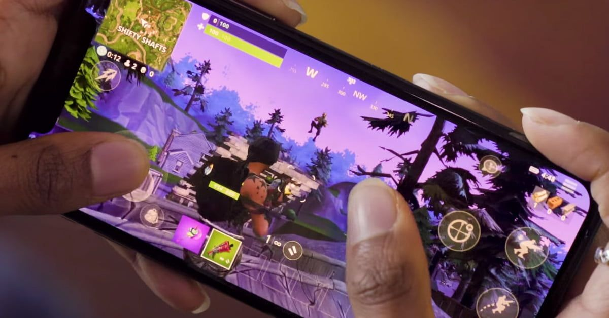fortnite is now available for free to all ios users coming to android soon - play fortnite mobile on mac
